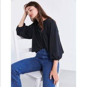 NWT Kimchi blue babydoll blouse top
